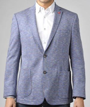 Luchiano Visconti Blue Multi Sport Jacket (ABE 131) SIZE LARGE ONLY