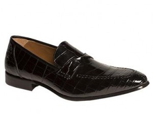 "CLOSEOUT:  Mezlan Shoe ""BORDONE"" Black (Size 10.5 ONLY)"