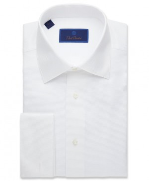 David Donahue Formal Dress Shirt French Cuff(FS3810110)