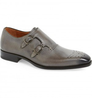 "CLOSEOUT:  Mezlan Shoe ""GRIS"" Light Grey (Size 12 ONLY).  LAST PAIR!"