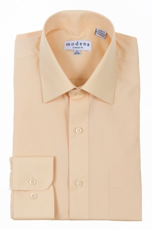 Banana Classic Fit Regular Cuff Dress Shirt by Modena