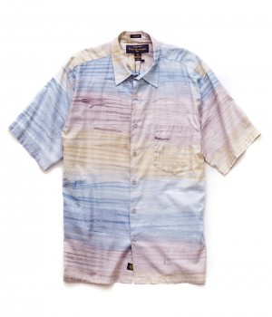 Pete Huntington Short Sleeve Sport Shirt:  BOARDWALK PH-203
