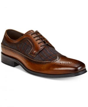 CLOSEOUT:  Tallia SERGIO cognac/rust shoe (Sizes:  10 ONLY)