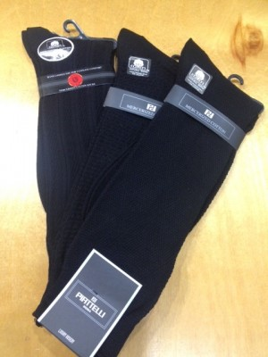 3 pair of mid-calf socks for $30 - random mix with many variables