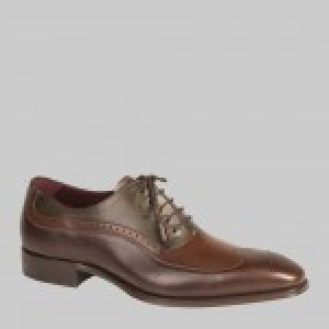 "CLOSEOUT:  Mezlan Shoe ""CAPUA"" Brown Multi (Size 12 ONLY)"