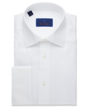 David Donahue Formal Dress Shirt French Cuff (FS835110)
