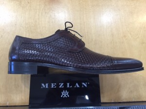 "CLOSEOUT:  Mezlan Shoe ""16224"" Brown (SIZES 9.5 and 12 ONLY)"