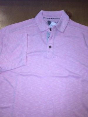 Age of Wisdom Pink 3 Button Polo