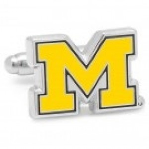 University of Michigan Cuff Links