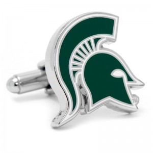 Michigan State University Cuff Links