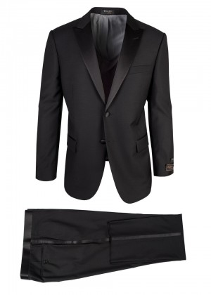 Tiglio Tufo Black Tuxedo  44 Short ONLY:  LAST PIECE!!!